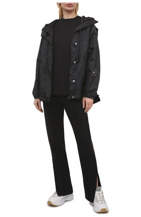 Женская хлопковая футболка Y-3 черного цвета, арт. GM3274/W | Фото 2