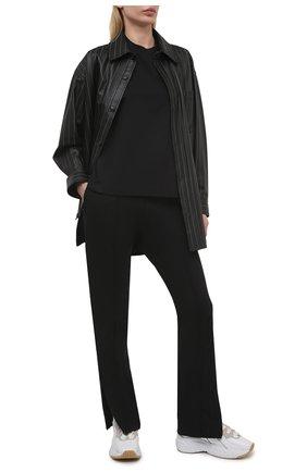 Женская хлопковая футболка Y-3 черного цвета, арт. GK4468/W | Фото 2