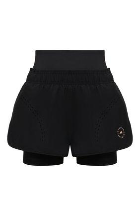 Женские шорты ADIDAS BY STELLA MCCARTNEY черного цвета, арт. FU0280 | Фото 1