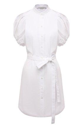 Женское хлопковое платье STELLA MCCARTNEY белого цвета, арт. 603148/SMA90 | Фото 1