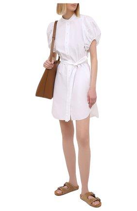 Женское хлопковое платье STELLA MCCARTNEY белого цвета, арт. 603148/SMA90 | Фото 2