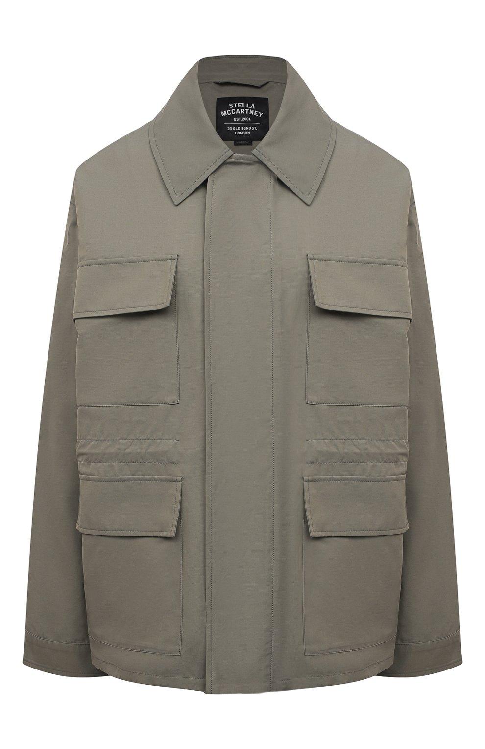 Женская куртка STELLA MCCARTNEY хаки цвета, арт. 602978/SIA03 | Фото 1