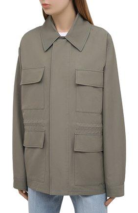 Женская куртка STELLA MCCARTNEY хаки цвета, арт. 602978/SIA03 | Фото 3