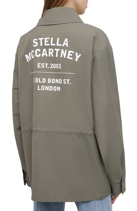 Женская куртка STELLA MCCARTNEY хаки цвета, арт. 602978/SIA03 | Фото 4