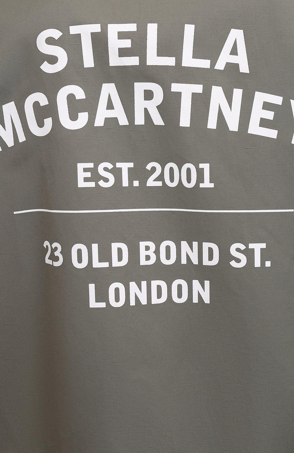Женская куртка STELLA MCCARTNEY хаки цвета, арт. 602978/SIA03 | Фото 5