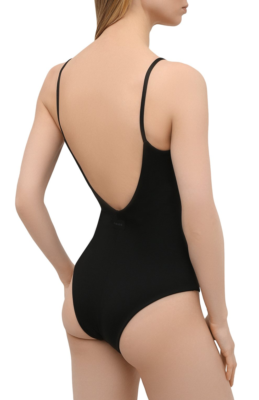 Женский слитный купальник FISICO черного цвета, арт. S1/F/MC06MP | Фото 3