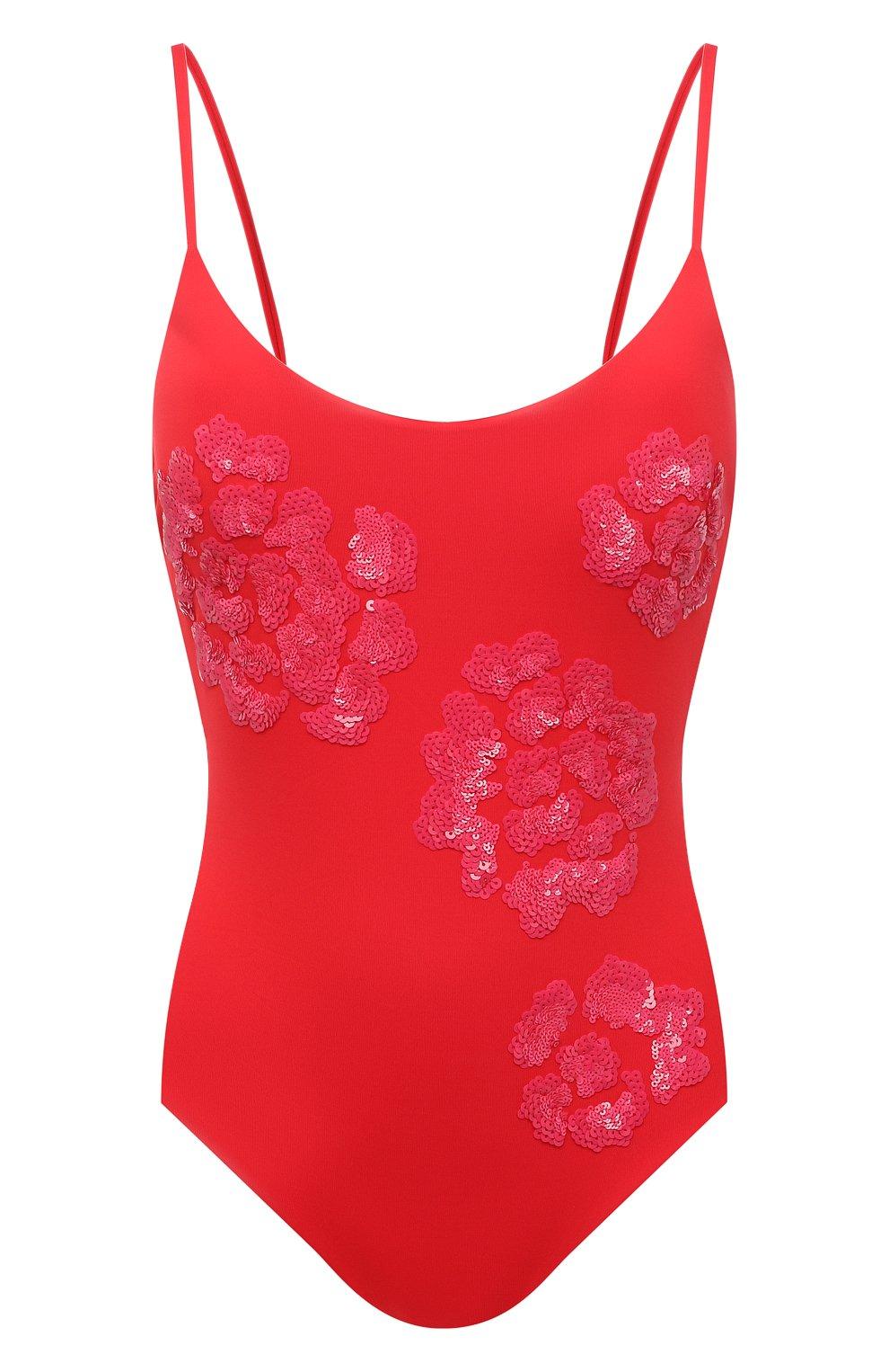 Женский слитный купальник FISICO красного цвета, арт. S1/F/MC06MP | Фото 1