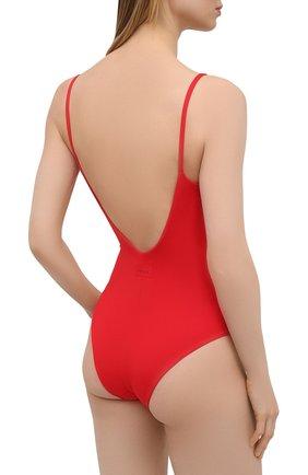 Женский слитный купальник FISICO красного цвета, арт. S1/F/MC06MP | Фото 3