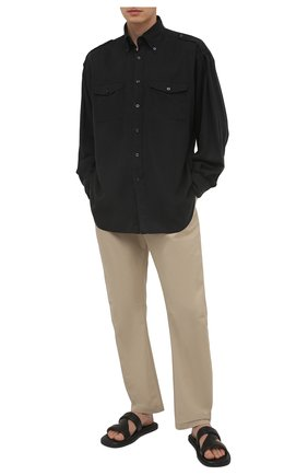 Мужская рубашка TOM FORD черного цвета, арт. 9FT800/940MBE | Фото 2