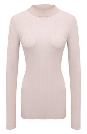 Женский шерстяной пуловер ATM ANTHONY THOMAS MELILLO бежевого цвета, арт. AW8401-TAD | Фото 1