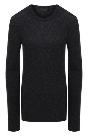 Женский кашемировый свитер ATM ANTHONY THOMAS MELILLO серого цвета, арт. AW8335-AL | Фото 1