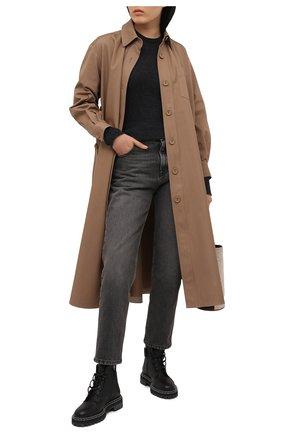 Женский кашемировый свитер ATM ANTHONY THOMAS MELILLO серого цвета, арт. AW8335-AL | Фото 2
