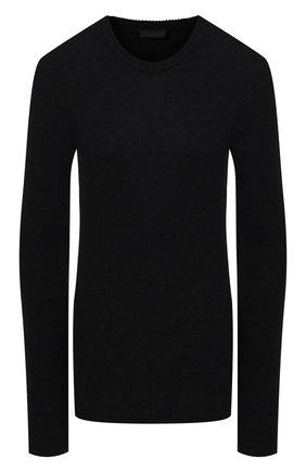 Женский кашемировый свитер ATM ANTHONY THOMAS MELILLO черного цвета, арт. AW8335-AL | Фото 1