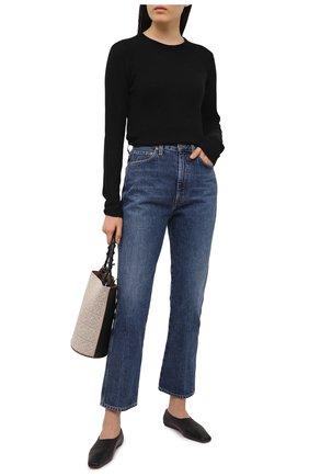 Женский кашемировый свитер ATM ANTHONY THOMAS MELILLO черного цвета, арт. AW8335-AL | Фото 2