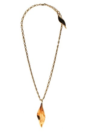 Женское кулон на цепочке CHLOÉ золотого цвета, арт. CHC21SF068CB7 | Фото 1