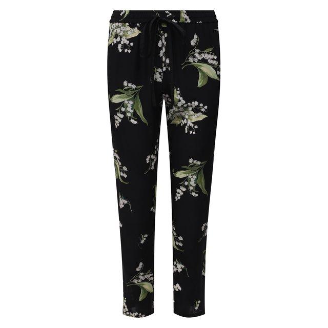 Шелковые брюки REDVALENTINO