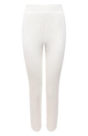 Женские брюки из шерсти и вискозы STELLA MCCARTNEY кремвого цвета, арт. 602890/S2240 | Фото 1