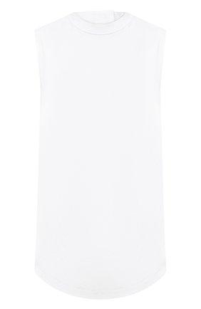 Женский хлопковый топ JIL SANDER белого цвета, арт. JSWS565806-WS244200 | Фото 1