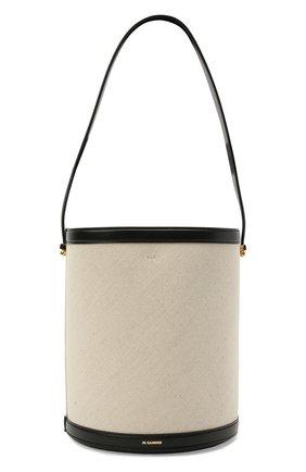 Женская сумка taos JIL SANDER белого цвета, арт. JSPS857509-WSB73020N | Фото 1