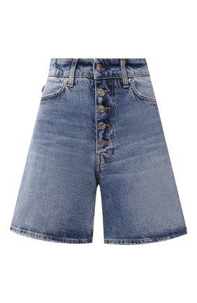 Женские джинсовые шорты TWO WOMEN IN THE WORLD синего цвета, арт. L0LA/A1NG7Q | Фото 1