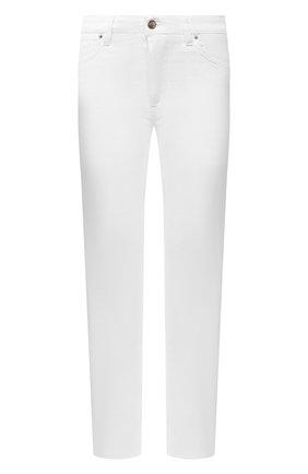 Женские джинсы TWO WOMEN IN THE WORLD белого цвета, арт. ELIS/A12Y9C   Фото 1