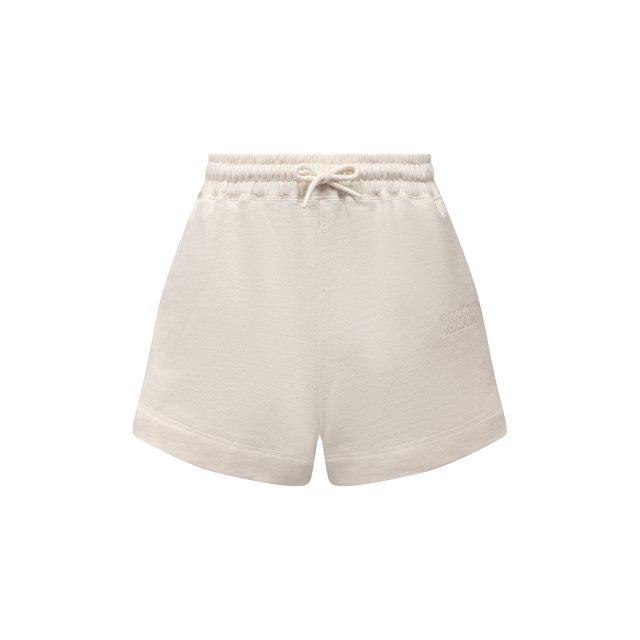 Хлопковые шорты Ganni