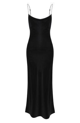 Женское шелковое платье DOROTHEE SCHUMACHER черного цвета, арт. 049503/SENSE 0F SHINE | Фото 1
