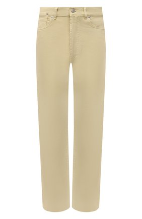 Женские джинсы DRIES VAN NOTEN светло-бежевого цвета, арт. 211-12413-2378   Фото 1