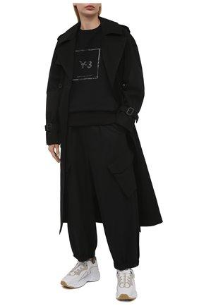 Женские брюки Y-3 черного цвета, арт. GV2794/W | Фото 2