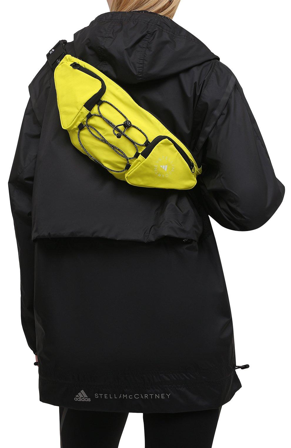 Женская поясная сумка ADIDAS BY STELLA MCCARTNEY желтого цвета, арт. GQ0550 | Фото 2
