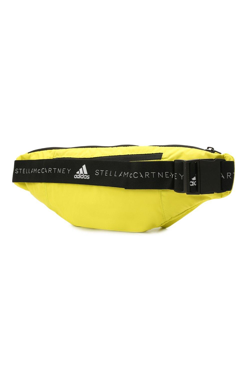 Женская поясная сумка ADIDAS BY STELLA MCCARTNEY желтого цвета, арт. GQ0550 | Фото 3