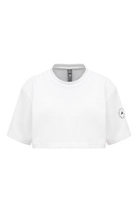 Женская футболка ADIDAS BY STELLA MCCARTNEY белого цвета, арт. GL7339 | Фото 1