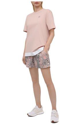 Женские шорты ADIDAS BY STELLA MCCARTNEY разноцветного цвета, арт. GL7338 | Фото 2