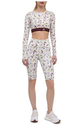 Женские шорты ADIDAS BY STELLA MCCARTNEY белого цвета, арт. GL5829 | Фото 2