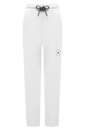 Женские хлопковые брюки ADIDAS BY STELLA MCCARTNEY белого цвета, арт. GL5820 | Фото 1