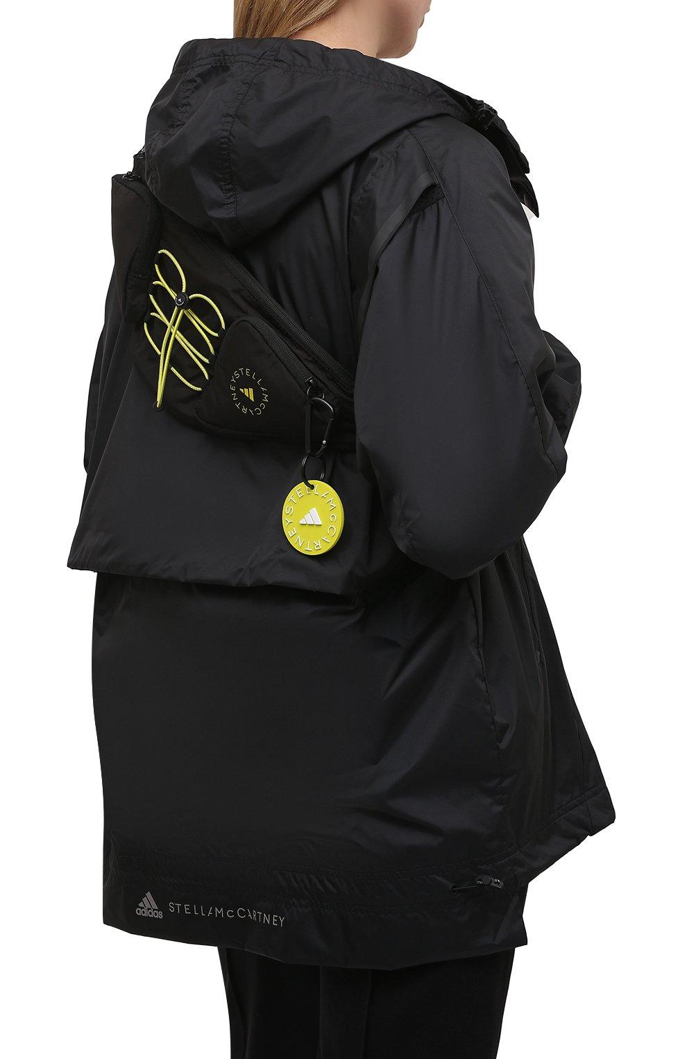 Женская поясная сумка ADIDAS BY STELLA MCCARTNEY черного цвета, арт. GL5440 | Фото 2