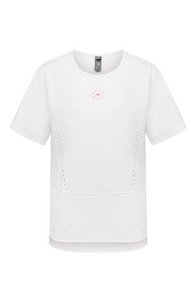Женская футболка ADIDAS BY STELLA MCCARTNEY белого цвета, арт. GL5270 | Фото 1