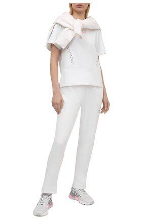 Женская футболка ADIDAS BY STELLA MCCARTNEY белого цвета, арт. GL5270 | Фото 2