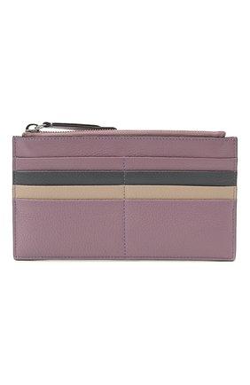Женский кожаный футляр для кредитный карт COCCINELLE разноцветного цвета, арт. E5 HV1 19 D1 16   Фото 1