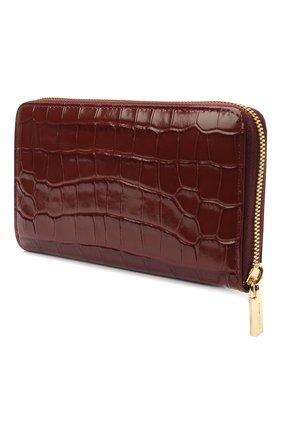 Женские кожаный кошелек COCCINELLE бордового цвета, арт. E2 HW6 11 32 01 | Фото 2