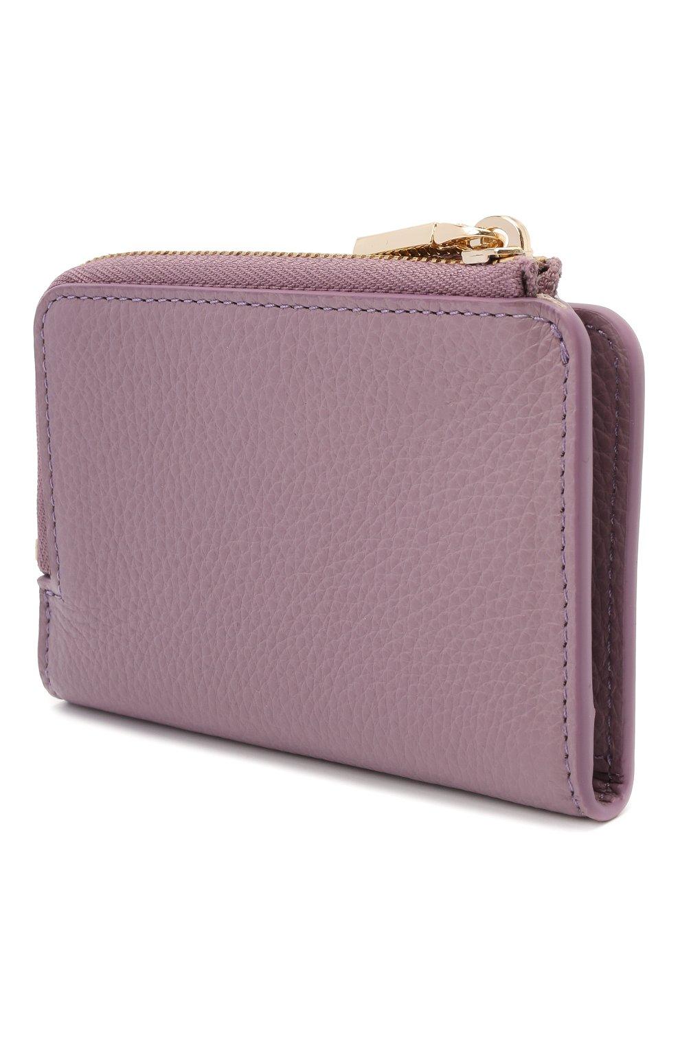 Женские кожаный кошелек COCCINELLE сиреневого цвета, арт. E2 HW5 17 01 01   Фото 2