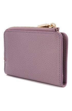 Женские кожаный кошелек COCCINELLE сиреневого цвета, арт. E2 HW5 17 01 01 | Фото 2