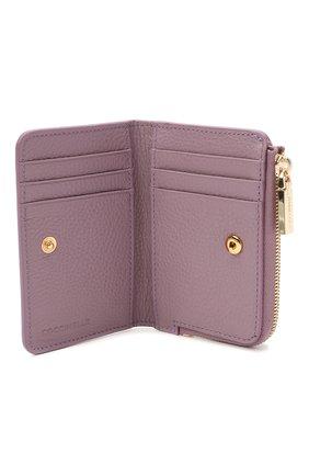 Женские кожаный кошелек COCCINELLE сиреневого цвета, арт. E2 HW5 17 01 01 | Фото 3