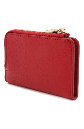 Женские кожаный кошелек COCCINELLE красного цвета, арт. E2 HW5 17 01 01 | Фото 2