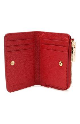 Женские кожаный кошелек COCCINELLE красного цвета, арт. E2 HW5 17 01 01 | Фото 3