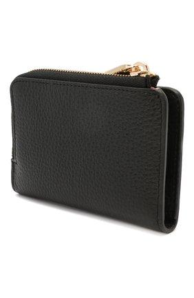 Женские кожаный кошелек COCCINELLE черного цвета, арт. E2 HW5 17 01 01   Фото 2