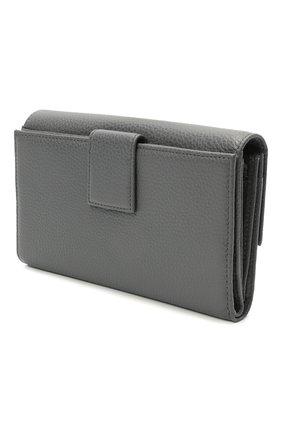 Женские кожаный кошелек COCCINELLE серого цвета, арт. E2 HW5 11 85 01   Фото 2