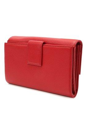 Женские кожаный кошелек COCCINELLE красного цвета, арт. E2 HW5 11 85 01 | Фото 2