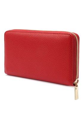 Женские кожаный кошелек COCCINELLE красного цвета, арт. E2 HW5 11 32 01 | Фото 2