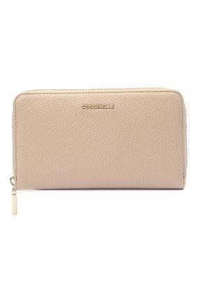 Женские кожаный кошелек COCCINELLE розового цвета, арт. E2 HW5 11 32 01   Фото 1